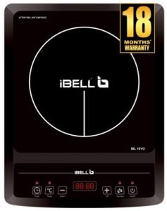 Ibell Hold the World. Digitally! 2000 W Induction Cooktop