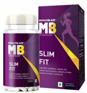 MuscleBlaze Women Slim Fit with Garcinia Cambogia and Green Coffee Bean Extract, fat burner for women
