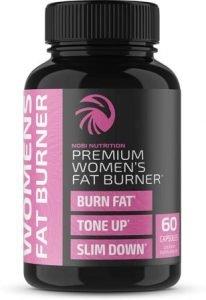Nobi Nutrition Premium Thermogenic Supplement for Women