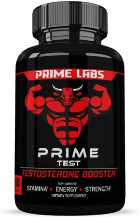Prime Labs - Men's Test Booster - Natural Stamina, Endurance and Strength Booster