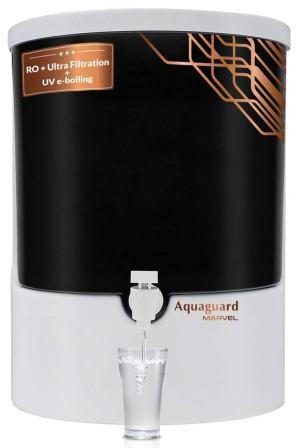 Eureka Forbes Aquaguard Marvel 8L RO+UV e-boiling +Ultrafitration+MTDS with Active Copper Water Purifier