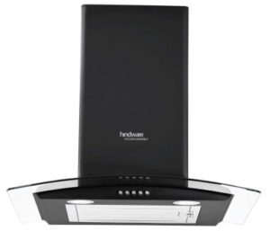 Hindware 60cm 1100 m3/hr Chimney (Sabina Black 60)