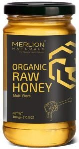 MERLION NATURALS Multiflora Organic Raw Honey