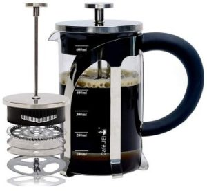 Café JEI French Press Coffee and Tea Maker