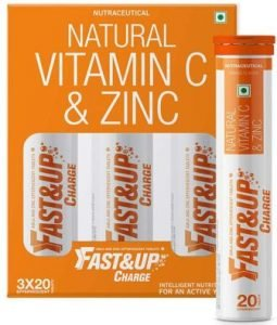Fast&Up Charge - Natural Vitamin C & Zinc