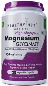 HealthyHey Nutrition High Absorption Magnesium Glycinate