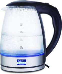 KENT Elegant Electric Glass Kettle