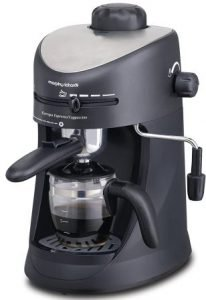 Morphy Richards New Europa 800W Espresso and Cappuccino 4-Cup Coffee Maker