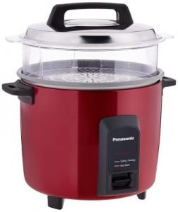 Panasonic Automatic Electric Cooker with Non-Stick Cooking Pan (SR-Y22FHS):