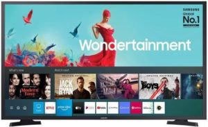Samsung 108 cm (43 Inches) Wondertainment Series Full HD LED Smart TV, UA43TE50AAKXXL