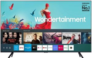 Samsung 108 cm (43 Inches) Wondertainment Series Ultra HD LED Smart TV, UA43TUE60FKXXL