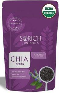 Sorich Organics USDA Certified Organic Chia Seeds