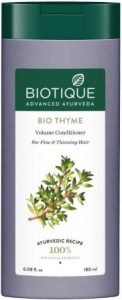 Biotique Bio Thyme Volume Conditioner for Fine and Thinning Hair