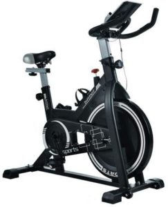 Fitkit FK717 (14lbs Flywheel) with Free Diet Plan, Trainer & Installation Services Spinner Exercise Bike
