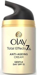 Olay Day Cream Total Effects 7 in 1, Anti-Ageing Gentle Moisturiser