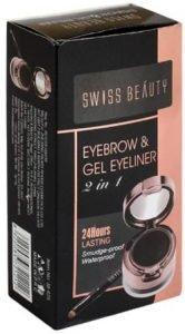 Swiss Beauty Eyebrow & Gel Eyeliner 2 in 1