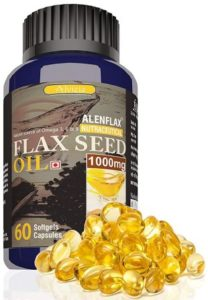 Alenflax Cold Pressed Flaxseed Oil 1000mg