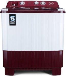Godrej 7 Kg Semi-Automatic Top Loading Washing Machine (WS AXIS 7.0)