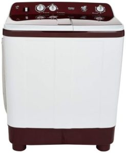 Haier 8 kg Semi-Automatic Top Loading Washing Machine (HTW80-1128BT)