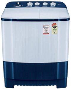 LG 6.5 Kg 4 Star Semi-Automatic Top Loading Washing Machine (P6510NBAY)