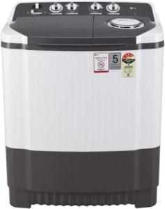 LG 7 Kg 4 Star Semi-Automatic Top Loading Washing Machine (P7020NGAY)