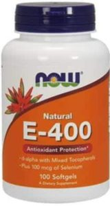 NOW Foods Vitamin E 400
