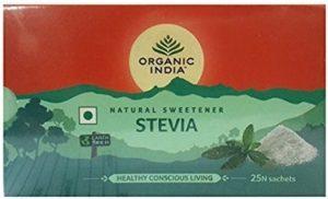 Organic India Natural Sweetener Stevia Sachets