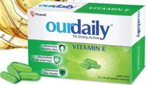 Ourdaily Vitamin E-400mg Softgels Capsules