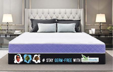 Sleepwell Gel Memory Foam Mattress