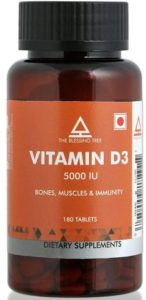 The Blessing Tree Vitamin D3 5000 IU Supplement, 180 Tablets
