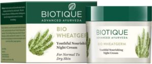 Biotique Bio Wheat Germ Night Cream for Normal and Dry Skin