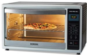 Borosil DIGIPRO 38L, Digital OTG, with Motorised Rotisserie and Convection