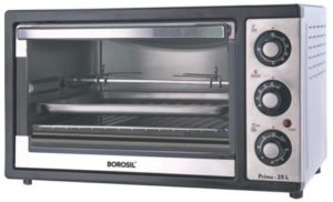 Borosil - Prima 25 L OTG, with Motorised Rotisserie and Convection