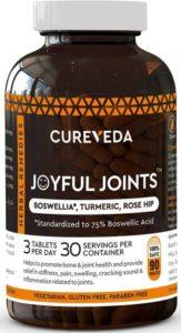 Cureveda™ Herbal Joyful Joint Support Supplement Tablets