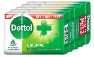 Dettol Original Germ Protection Bathing Soap bar, best body soap in india