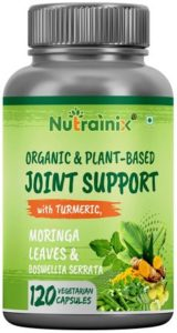 Nutrainix Certified Organic and Plant-based Joint Support