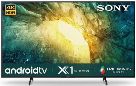 Sony Bravia 55X7500H 4K Ultra HD Certified Android LED Smart TV