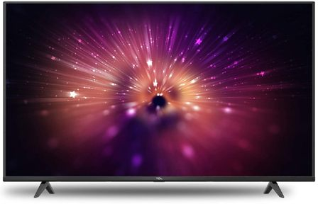 TCL 50P615 50-inch 4K Ultra HD Certified Android Smart LED TV