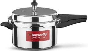 Butterfly Cordial Induction Base Aluminium Pressure Cooker, Best Pressure Cooker in India 2021