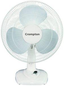 Crompton Hi-Flo Eva 16-Inch Table Fan