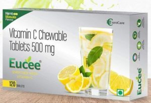 Eucee Vitamin C Chewable Tablets 500mg