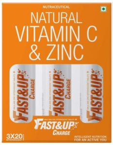 Fast&Up Charge – Vitamin C with Zinc