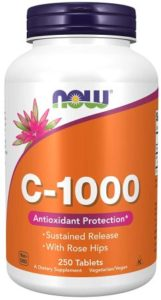 Now Foods Vitamin C 1000mg Tablets