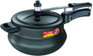 Prestige Nakshatra Plus Hard Anodised Aluminium Pressure Cooker
