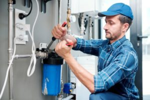 How to set up a water purification system in a home