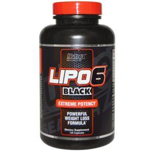 Nutrex Research Lipo-6 Black Extreme Potency