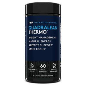 RSP Nutrition QuadraLean Thermogenic Fat Burner