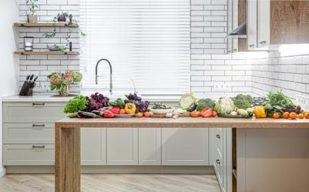 A makeover of the Kitchen