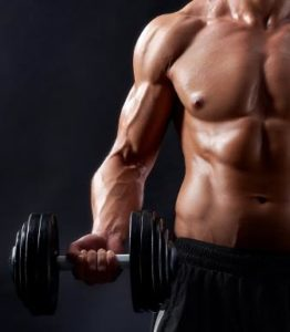 Enhances muscle strength and mass
