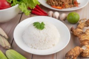 Low carbohydrate substitute for Rice